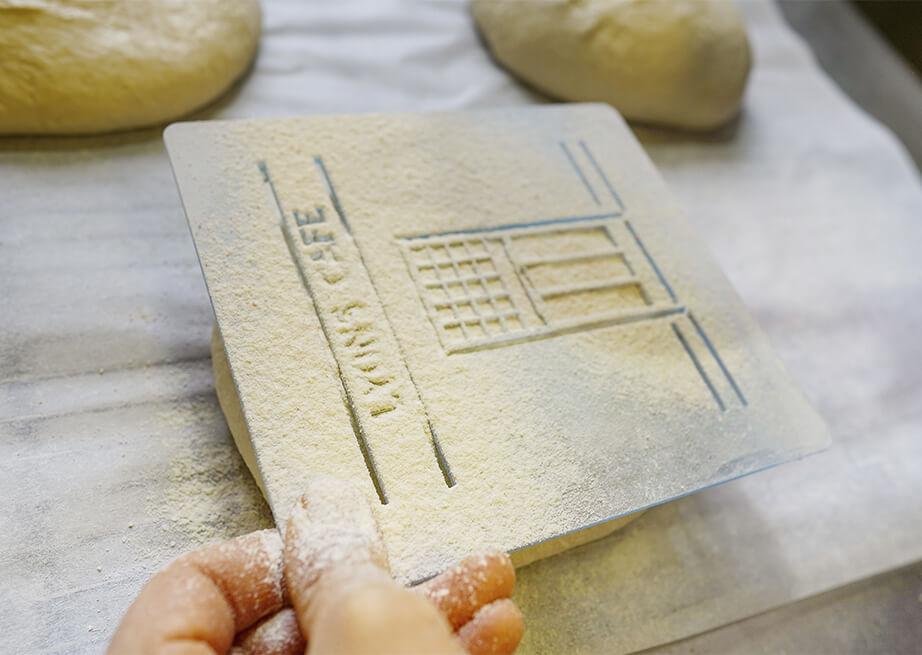 Lyon's Bakeshop freshly baked bread